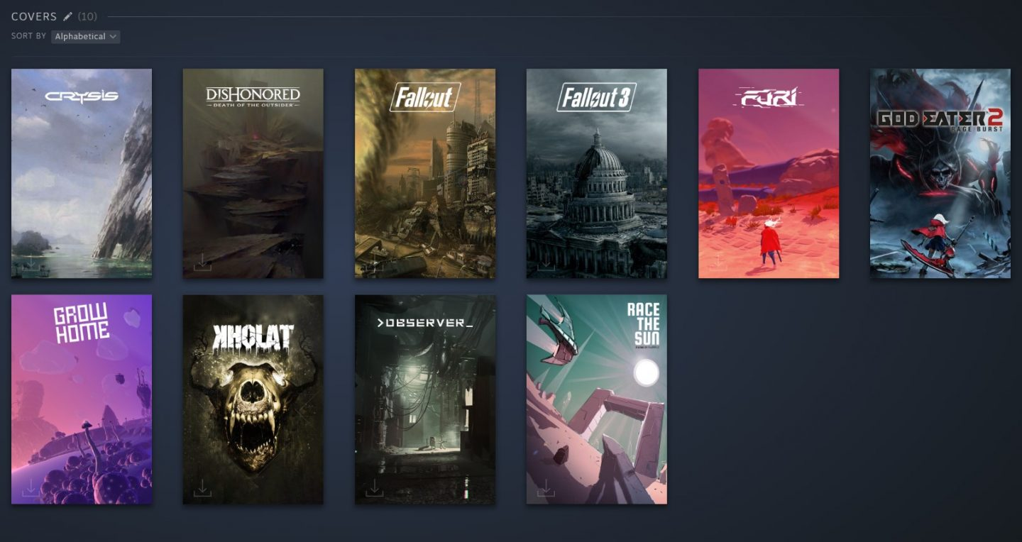 How to please your customers with Steam's New Library Feature